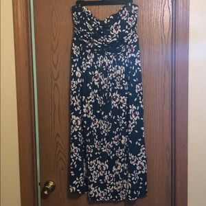 Lane Bryant Strapless Dress with Attachable Straps